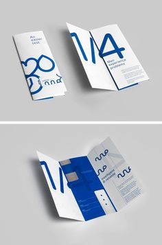 Saved by Katherine Cheng (itskaturdayy). Discover more of the best Brochure, Potential, Publication, Blue, and Layout inspiration on Designspiration Brochure Indesign, Template Brochure, Design Brochure, Creative Brochure, Brochure Layout, Branding Design, Brochure Ideas, Flyer Layout, Leaflet Layout