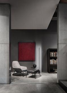Prince armchair, Rodolfo Dordoni Design