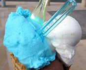 Ice-Cream-Recipes.com is an ad-supported site and I haven't tried any of their recipes, but it looks like a great resource for new recipes to try --RC