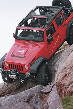 #JEEP What goes up must come down!