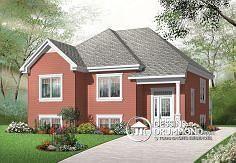Plan de maison no. W3323 de DessinsDrummond.com