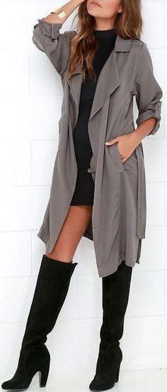 Outfits con botas arriba de la rodilla   Belleza