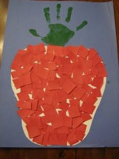 Ramblings of a Crazy Woman: Another Pre School Apple Craft - Fall Crafts For Toddlers Daycare Crafts, Classroom Crafts, Toddler Crafts, Apple Classroom, Classroom Ideas, Fall Preschool, Preschool Crafts, Crafts For Kids, Preschool Apples