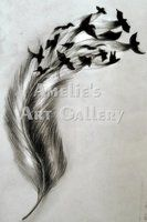 cross feather tattoos | Eagle and cross tattoo by thirteen7s on deviantART