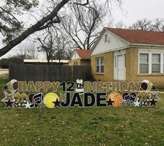 Birthday Yard Signs, Welcome Home, Gender Reveal, Graham, Holiday, Christmas, Birthdays, Baby Shower, Xmas