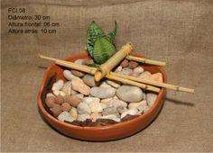 Fontes Água & Bambu: Boa sorte e prosperidade para casa e seus moradores.