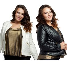 "Quilted faux leather jacket with gold hardware NWT. Black or White. Classy, versatile, effortlessly cool. This super chic jacket's gold-tone hardware makes it perfect for night looks, while its faux leather fabrication makes it casual enough for everyday ensembles. Features a fabric lining.   Length from underarm seam to bottom hem: 12.5"".   Size Guide:  1X: 10-12W, 32-35"" waist, 40-43"" hip, 38-41"" Bust.  2X: 14-16W, 34-37"" waist, 43-47"" hip, 41-44"" Bust.  3X: 18-20W, 38-41"" waist, 47-50""…"