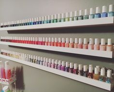 Sundays are for nail polish refreshes -- how many essie polishes do you have?!
