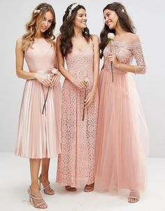 11e81635419e Bridesmaid Dress Trends  Lace Top Bridesmaid Dresses. To start off the new  year
