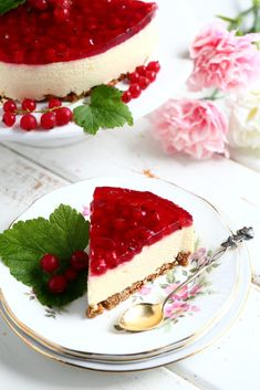 Parhaat punaherukkaleivonnaiset - plus 1 - Suklaapossu Funny Cake, Just Eat It, Sweet Pastries, Pretty Cakes, Celebration Cakes, Cheesecakes, Yummy Cakes, Lorem Ipsum, Panna Cotta