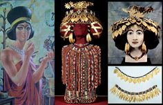 Vania Davchevas Art Place: История на бижутата и не само....  Queen Puabi