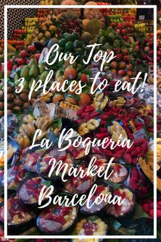 Want to know all of the best places to eat in La Boqueria Market in Barcelona? Look no further than our top 3 favorite places to visit in the Aladdin's Cave of markets, right here in Barcelona! We hope you are hungry. Spanish Cuisine, Spanish Food, Barcelona Travel Guide, Hotels, Spanish Culture, Things To Do, Good Things, Roadtrip, Best Places To Eat
