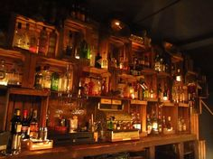 Berry and Rye, Liverpool   This atmospheric boozer plays the blues and slings a mean drink. Walk through the big black doors at the front, and go for an Old Fashioned. 15 Secret Underground Bars Everyone Must Visit
