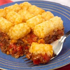 Cheesy Burger Bake Recipe ~ simple yummy casserole!