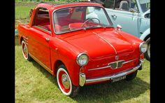 Coach-built cars on Fiat mechanicals became very popular in postwar era, laying groundwork for a merger American Graffiti, Harrison Ford, My Dream Car, Dream Cars, Fiat 600, Auto News, Smart Car, Car Manufacturers, Old Cars