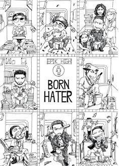 born hater fanart