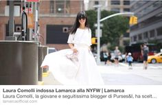 LAMARCA lands to NYFW The experience of Purses&I by Laura Comolli with Lamarca Read more on LM Live Blog  www.lamarcaofficial.com
