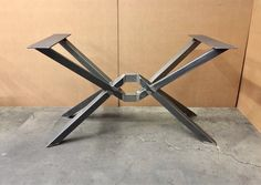 The Diamond Design Table Base, Octopus Table Base, Heavy Duty, Strong and Sturdy Table Base La diamant Design Table Base, Steel Table Legs, Dining Table Legs, Welded Furniture, Steel Furniture, Esstisch Design, Welding Table, Welding Cart, Metal Welding, Table Frame