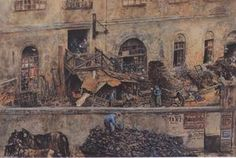 Rudolf Von Alt - Die Eisengießerei in Kitschelt Skodagasse in Wien
