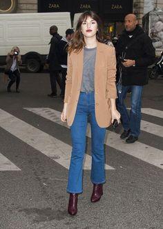 Fashion Week, Paris Fashion, Girl Fashion, Fashion Outfits, Style Fashion, Parisienne Chic, Style Chic Parisien, Style Casual, My Style