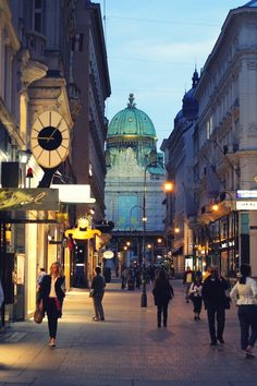 Vienna. My home away from home.