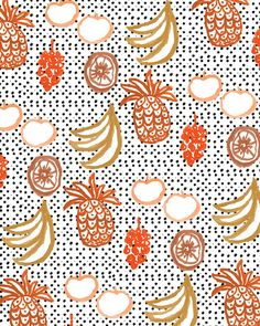 Fruit and Dots.