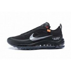 newest e3dc3 9de42 Womens Shoes OFF WHITE Nike Air Max 97 Black Sliver #RunningSneakersAirmax97