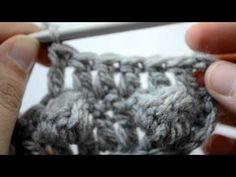 How to crochet the bobble stitch - Part 3 of 5 - Crochet Lessons - YouTube