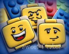 Lego (Square Cookie Cutter)