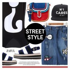 """""""Street Style"""" by pokadoll ❤ liked on Polyvore featuring Forever 21 and Marc Jacobs"""