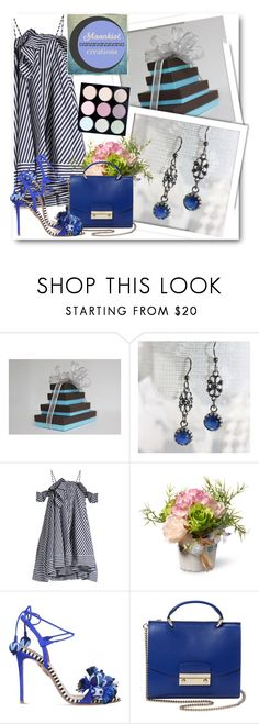 """""""Moonkist Creations 22"""" by fashionmonsters ❤ liked on Polyvore featuring MSGM, National Tree Company, Aquazzura and Handle"""