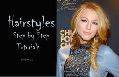 Wanna know how to braid your hair in different styles? Discover 5 different types of hairstyle step by step tutorials to style your hair for casual outings & parties! Classy Hairstyles, Quick Hairstyles, Pretty Hairstyles, Step By Step Hairstyles, Braided Hairstyles Tutorials, Indian Makeup Trends, Fish Tail Side Braid, Vintage Curls, Different Hair Types
