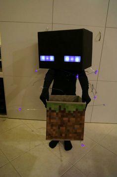 Minecraft Villager Head Costume Skeleton costumes, Ske...