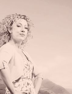 Alex Kingston, mainly just because of her hair.