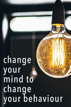 Change the way you think about food and your weight will follow :)