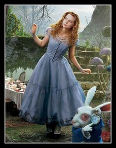 alice in wonderland costume tim burton disney movie