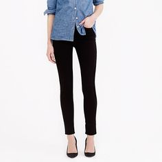 Lookout high-rise jean in black - denim - Women's new arrivals - J.Crew