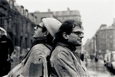 Peter Orlovsky y Allen Ginsberg, París 1957.