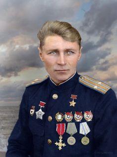 KONSTANTIN ALEKSEEV, HERO OF THE SOVIET UNION