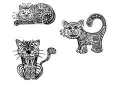 doodle-katzen-klein