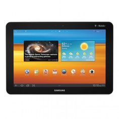 Good  Samsung Galaxy Tab SGH-T859 10.1 16GB White (T-Mobile) Android Tablet