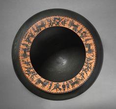 Dinos, c. 520-515 BC circle of Antimenes Painter (Greek)  black-figure terracotta