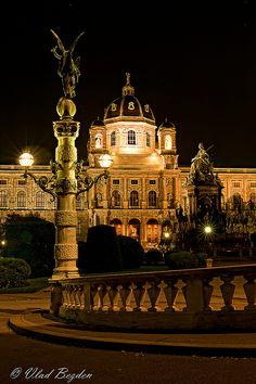 Maria Theresien Platz,Vienna,Austria