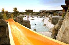 Pool-Slide at Brasada Ranch, Bend, Oregon
