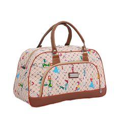Size 46*27*21cm Summer Style Women Travel Bags 2015 High Quality Waterproof Female Handbag Duffle Luggage Bag OS-ME-031