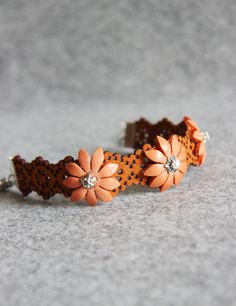 Hey, I found this really awesome Etsy listing at https://www.etsy.com/listing/214825432/orange-bracelet-orange-leather-bracelet