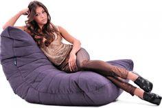 Бескаркасное лаунж-кресло Acoustic Sofa™ - Все бин бэги Ambient Lounge хороши для лаунж и чиллаут зон, но Acoustic Sofa словно создано для этого. Кресло-мешок оригинальной формы с рельефной отделкой создаст уникальный стиль в вашем интерьере. Это ваше личное облако комфорта и отдыха.