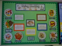 Being Healthy Display, classroom display, class display, diet, food, health, healthy, balanced diet,exercise,Early Years (EYFS),KS1 & KS2 Primary Resources