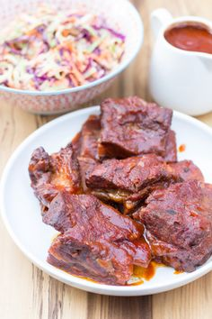 Slow Cooker BBQ Beef Short Ribs Recipe