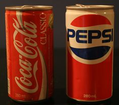 1980's pop cans. Cans that actually hurt if you tried to crush them on your head! We were tough.